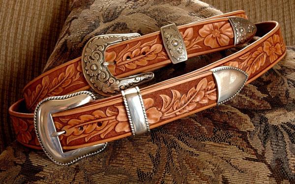 Two Style Western Belts