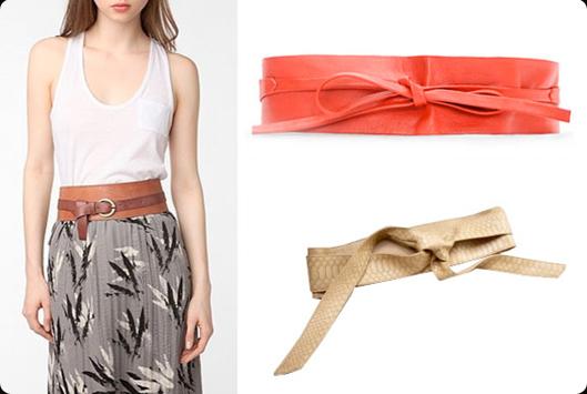 Belt + Shirt/Skirt