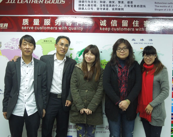 Ivy, JianHe and Lily Huang and Jessica Yang in J.D