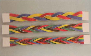 Three-string Magic Braided Leather