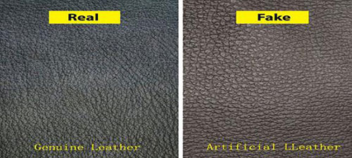 Genuine leather and artificial leather