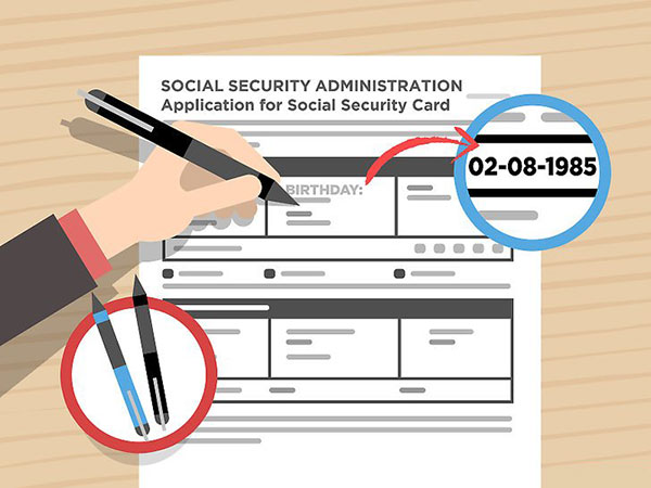 Reporting the loss to social security bureau