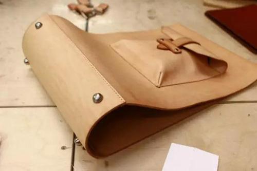 The bottom of messenger bag