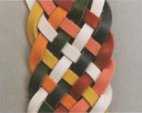 Eight-string Flat Braided Leather