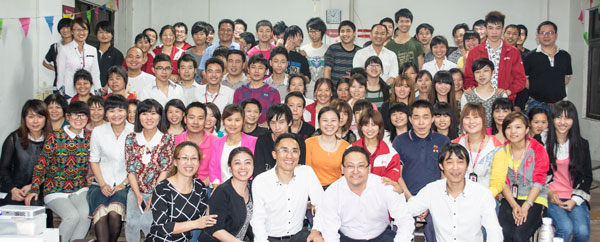 All staff photo